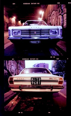 Ford Taurus, Turro, Milan - Vintage car, color photography