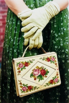 Gloves & Handbag, Goodwood, Chichester - Feminine fashion, color photography