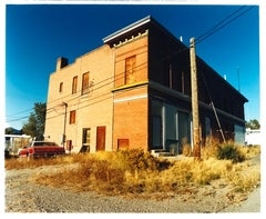 'High Street', Ely, Nevada - After the Gold Rush - Architecture Color Photo
