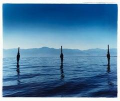 Jetty II - North Shore Yacht Club, Salton Sea, California - Color photography