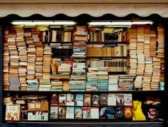 Karma, Milan - Book Kiosk, Italian color photography