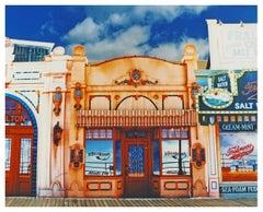 La Belle Femme in the Sun, Atlantic City, New Jersey - American Color Photograph