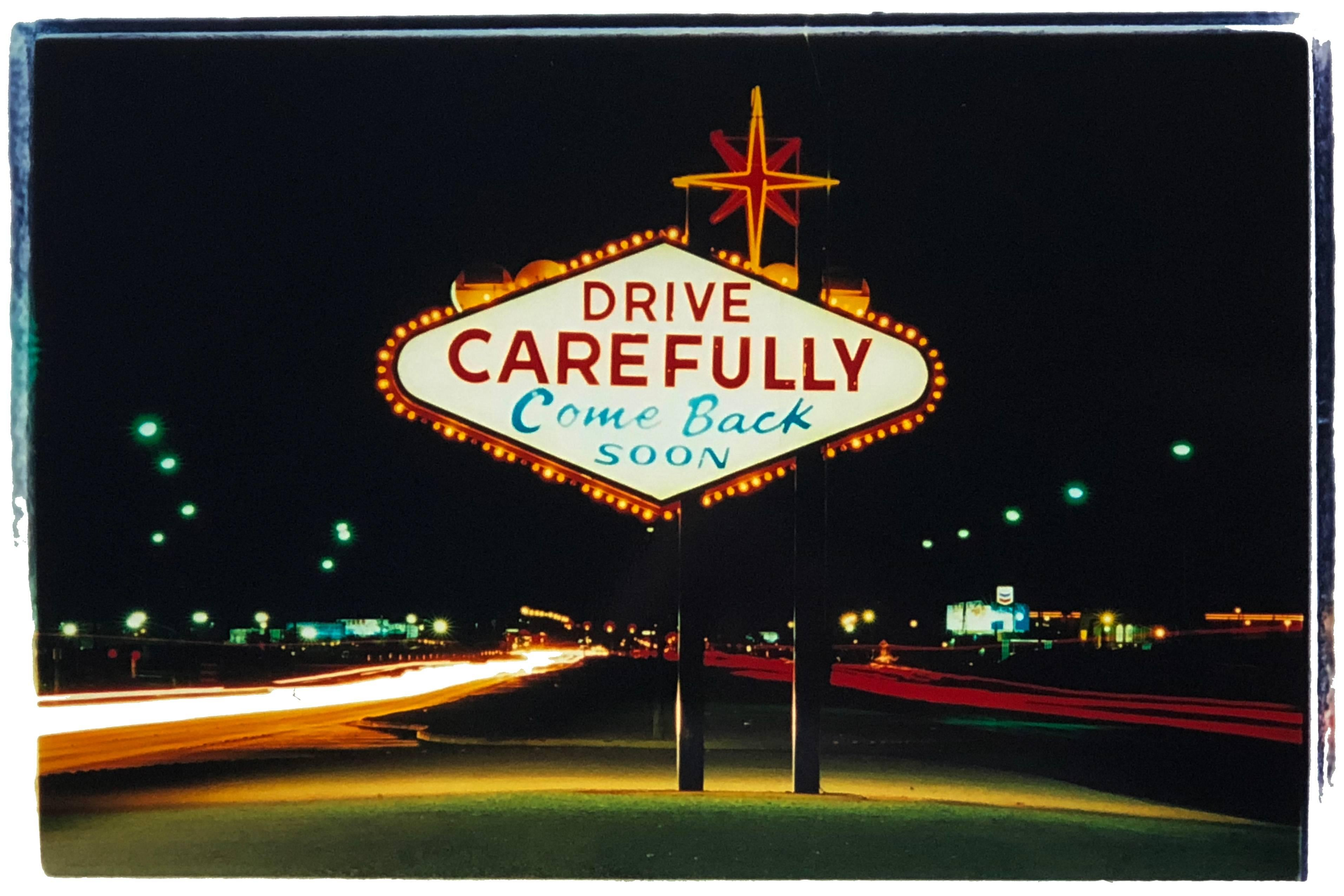 Leaving, Las Vegas - American Sign Color Photography
