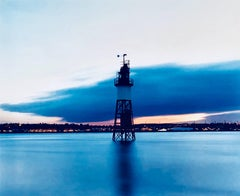 Lighthouse, Stone Ness, Purfleet - English waterscape color photography