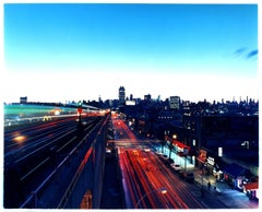 Lines on the 7 Line, New York - Skyline, Cityscape, Color Photography
