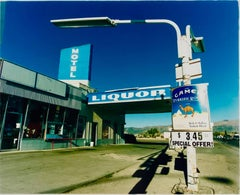 Liqour, Ely, Nevada - American Color Photography