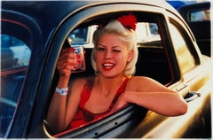 Lisa - Dragstrip Girl, Las Vegas - Contemporary portrait color photography