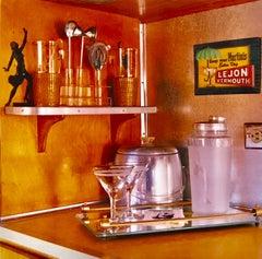 Martini Corner, Bisbee, Arizona - Vintage interior color photography