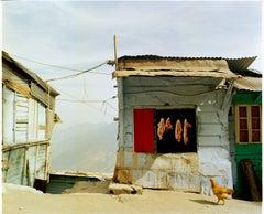 Meat Shack, Ghum, Darjeeling - India Landscape Color Photography