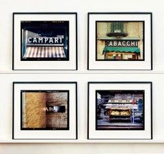 Milan Street Photography Set of Four Artworks