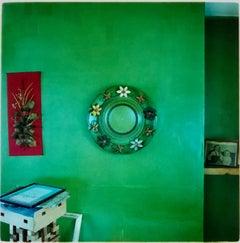 Mirror, Manea - British Vintage Interior Color Photography