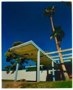 Motel Entrance, Desert Shores, Salton Sea, California - American architecture