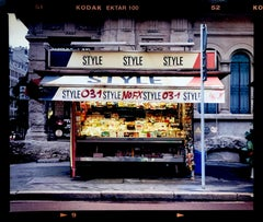 News Stand - Bronzetti, Milan - Italian Street Color Photography