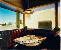 Nicely's  Café, Mono Lake, California - American interior color photography