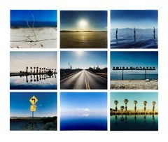 Nine Piece Desert Oasis Installation - Waterscape and Landscape Color Photograph