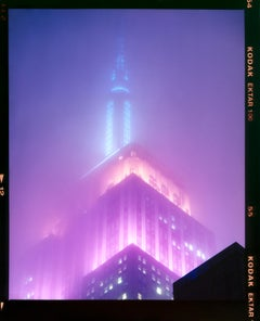 NOMAD VIII (Film Rebate), New York - Conceptual Architectural Color Photography