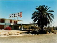 North Shore Motel Office I, Salton Sea California - Color Photography