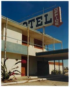 North Shore Motel Office II, Salton Sea, California - Architectural Color Photo