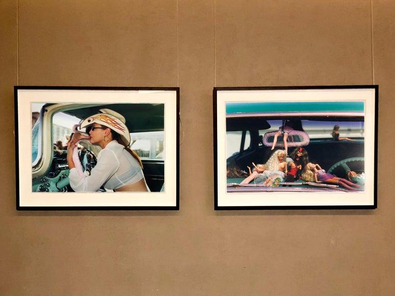 Oldsmobile & Sinful Barbie's, Las Vegas - Contemporary Color Photography For Sale 1