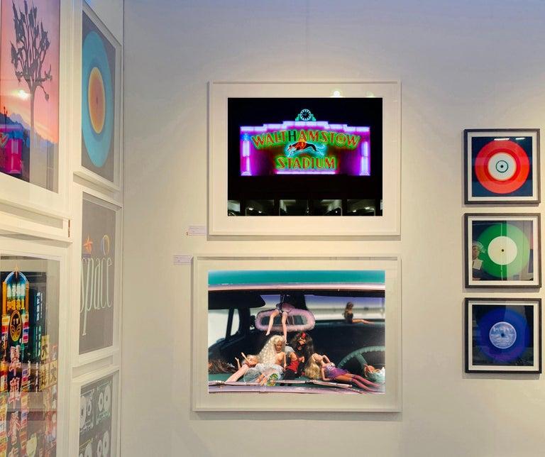 Oldsmobile & Sinful Barbie's, Las Vegas - Contemporary Color Photography For Sale 4