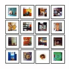 'Ordinary Places' Installation  - English vintage interior color photography