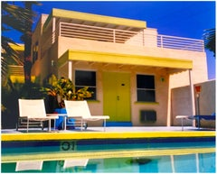 Palm Springs Pool Side I, California - American Architecture Color Photography