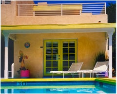 Palm Springs Pool Side II, California - American Architecture Color Photography