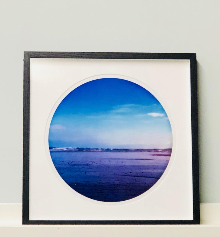Pebbled Shore, Norfolk - Contemporary, Circle, Waterscape Photography For Sale 5