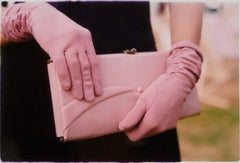 Pink Gloves, Goodwood, Chichester - Feminine fashion, color photography