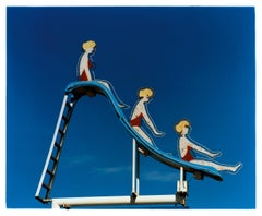 Pool Slide, Las Vegas, Nevada - American pop art color photography