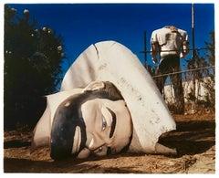 Poor Richard - Head & Torso, North Sore, Salton Sea, California - Color Photo