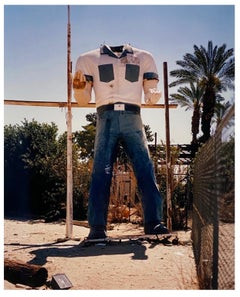 Poor Richard - Torso, Salton Sea California - America Roadside Giant Color Photo