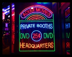 Private Booths, New York - Neon Color Street Photography