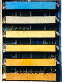 Rainbow Apartments, Milan - Conceptual Architectural Color Photography