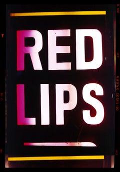 Red Lips, Kowloon, Hong Kong - Pop art color photography