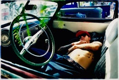 Resting Hot Rod, Bakersfield, California - Contemporary color photography