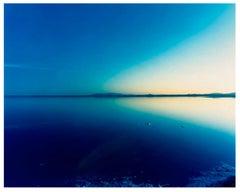 Salt Flats, Bonneville, Utah - Blue landscape color photography
