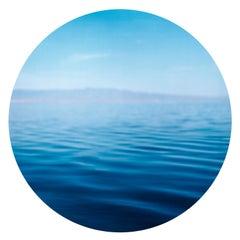 Salton Sea, California - Contemporary, Circle, Waterscape Photography