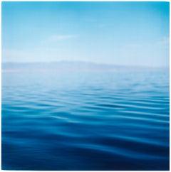 Salton Sea, California - Waterscape, Blue, Color Photography