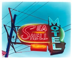 Sea Shell Motel, Wildwood, New Jersey - American Sign Porn Color Photography