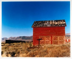Shed - Railroad Depot, Nevada, 2003 - After the Gold Rush - Architecture Photo