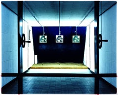 Shooting Alley, Ho Chi Minh City, Vietnam - Blue Color Photography