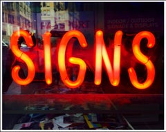SIGNS, New York - Neon Color Street Photography