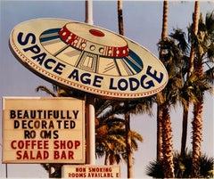 Space Age Lodge, Gila Bend, Arizona - Contemporary color photograph