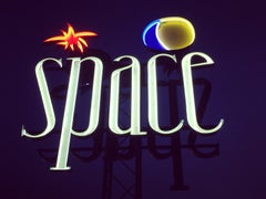 Space, Ibiza, the Balearic Islands - Contemporary Color Sign Photography