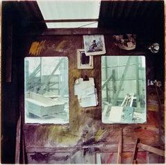 Stonemason's Workshop, Northwich - Industrial British Color Photography