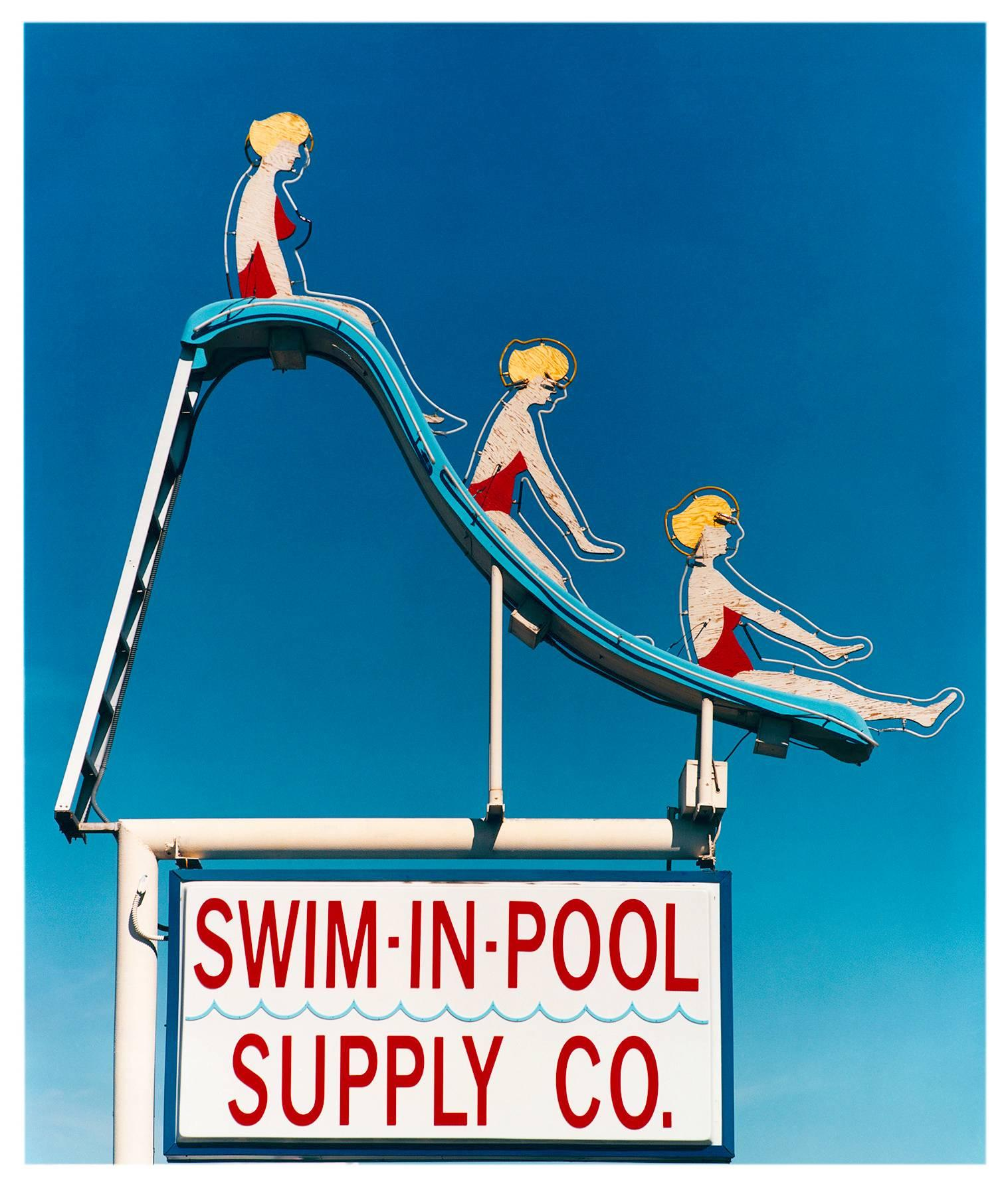 Swim-in-Pool Supply Co. Las Vegas, Nevada - Americana Pop Art Color Photography