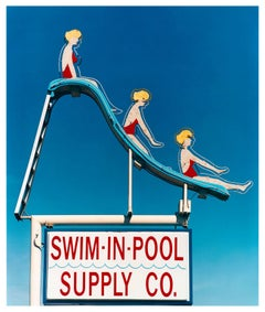 Swim-in-Pool Supply Co. Las Vegas, Nevada - Americana Pop Art Color Photography