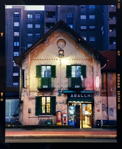 TABACCHI at Twilight, Milan - Architectural Color Photography