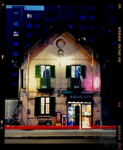 TABACCHI at Night, Milan - Architectural Color Photography